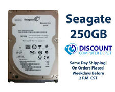 "250GB 2.5"" HDD Notebook / Laptop Hard Drive Internal SATA Seagate Brand"