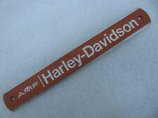 1 NOS AMF Harley Davidson Shovelhead Gas Tank Badge Emblem 61793-77