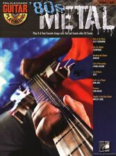 Guitar Play-Along 80s Metal Learn to Play Heavy Rock TAB Music Book & CD