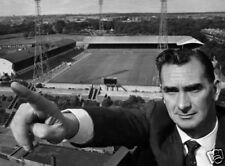 Jackie Milburn Newcastle United Legend 10x8 Photo