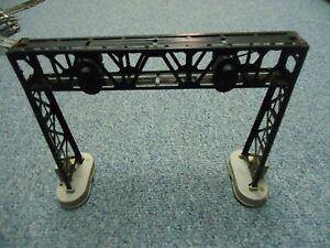 Lionel 450 Operating  Signal Bridge Adjustable Lights Dual Track