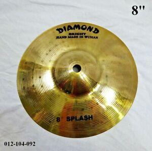 "DIAMOND 8"" Bright Splash Cymbal - Hand Made In Wuhan 012-104-092"
