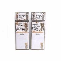Kitchen Fridge Magnetic Memo Shopping Pad /& Pencil Gin slogans Gift Christmas