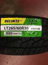 4 NEW LT 265/60R20 Delinte DX10 A/T 10ply TIRES 2656020 265 60 R20