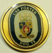 USS Porter (DDG-78) Chief's Mess Navy Challenge Coin