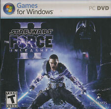 Star Wars Force Unleashed II 2 -Lucas Arts Action PC Game WinXP,Vista,7 - SEALED