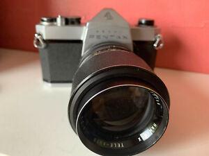 Pentax Asahi SP 500, analoge Spiegelreflexkamera, Zubehörpaket