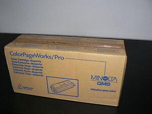 Minolta QMS Originaltoner MAGENTA 0940-601 ColorPageWorks/Pro