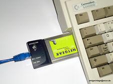 Netzwerkkarte PCMCIA Ethernet Adapter Amiga 600/1200 PC-Link-Set 100 Mbps