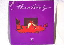 """Klaus Schulze – """"X"""" Etiqueta: cerebro – 0080.023-2, 2 × Vinyl, LP, Album"""