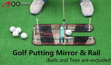 A99 Golf Putting Mirror & Rail Alignment Practice Training Aid Portable
