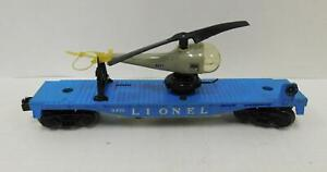 LIONEL 'O' POST-WAR 3410 HELICOPTER CAR
