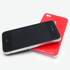 TOP QUALITY HIGH GLOSS CASE SHINY GLOSSY FINISH HARD BACK COVER FOR IPHONE 4S 4