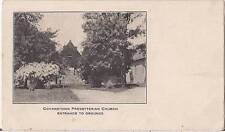 Govanstown Presbyterian Church Md Vtg 1900s Unused Postcard Undivided Back