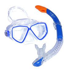 Taucherbrille Schnorchelset Aruba 2 LX für Erwachsene - mit Ventilschorchel