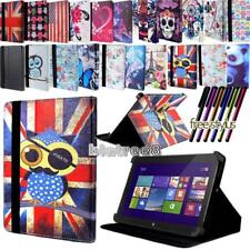 For Various Dell Venue 7 8 10 Tablet - Smart Stand Leather Cover Case + Stylus