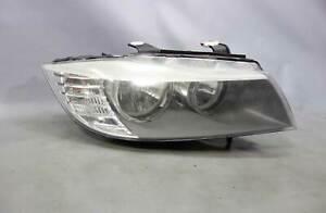 2009-2012 BMW E90 3-Series E91 4dr Right Front Halogen Head Light Lamp OEM