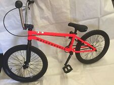 2018 We The People Bycicle WTP Bmx Neo Red Bmx Bike