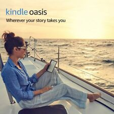 Amazon Kindle Oasis e-Reader Waterproof 8GB Wi-Fi 7in display Built-In Audible
