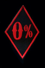 0% Patch Badge Motorcycle Hot Rod CC Vest Jacket