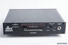 DBX 263X De-Esser, vintage analogico, 1/2 U Rackmount