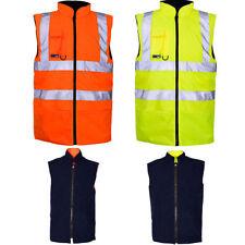 Zip Safety Waistcoats for Men