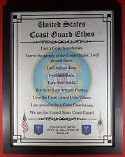 Mc-Nice: Coast Guard Ethos Framed Personalized