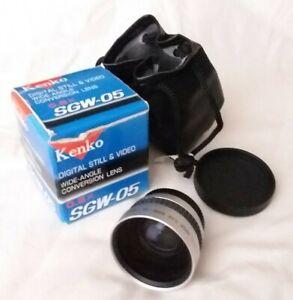Kenko SGW-05 0.5X Wide-Angle Conversion Lens for Digital Still & Video Cameras