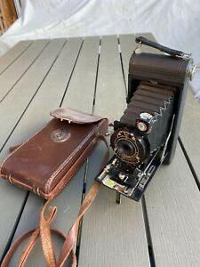 Kodak Eastman Pocket Camera Model 1A Original Case Good Untested Condition