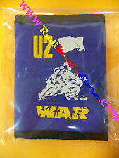 PORTAFOGLIO Wallet U2 War BLU BLUE 10x14 cm BONO VOX no*cd dvd lp mc vhs live