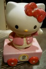 Precious Moments Sanrio Hello Kitty #2 Birthday Train Porcelain Figurine