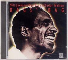 MILT JACKSON: Basie's Bag w/ Ray Brown, Cedar Walton SEALED Pablo Jazz CD