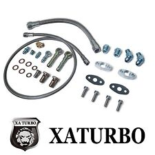 Garrett GT2835 GT3037 Turbo oil water line kit GT25 GT28 GT30 GT35