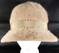 Vintage Kangol Angora Cloche Hat Womens Size 6.5 Made in England
