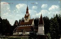 Hahnenklee Niedersachsen Harz Postkarte 1930 Kirche Verlag Lederbogen gelaufen