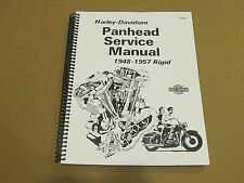 Harley Davidson Panhead Service Manual 1948 - 1957 Rigid Motorcycle