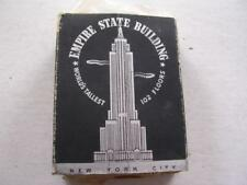 Neat Vintage 1930's Cigarette Adverap from Empire State Building 102 Floors