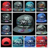 7b7a780d2a8 Plain Baseball Cap Fashion Hat CALI Bear Caps California Republic Snapback  Hats