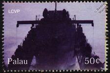 WWII Landing Craft Vehicle Personnel (LCVP) Ship D-Day Warship Stamp