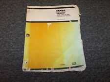 Case 584C 585C 586C CK Forklift Lift Truck Tractor Parts Catalog Manual Guide