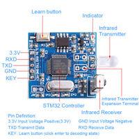 2pcs IR Infrared Transceiver Decoder Module TTL Communication Remote Contro Q6M4