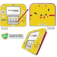 Pokémon pikachu vinyle peau sticker pour Nintendo 2DS