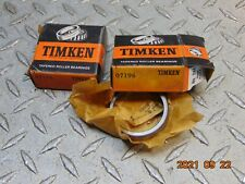 New Listinglot Of 2 New Timken 07196 Bearing Cup Race Free Shipping