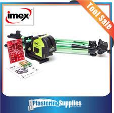 Imex 2 Line Self Levelling Internal Cross Line Plumb Laser LX22 Inc Tripod + Bag