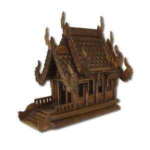 Geisterhaus 47 cm San Phra Phum Geisterhäuschen Feng Shui Thailand Chiang Mai