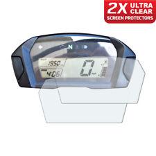 2 x Honda NC700 2012+ Dashboard Screen Protectors: Ultra Clear