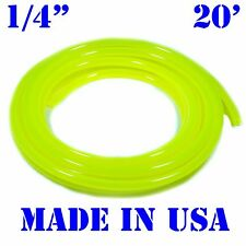 "20 Feet Yellow 1/4"" ID Fast Flow Fuel Line Motorcycle/Jetski/ATV/Kart/Snowmobile"