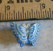 Beautiful Arita porcelain butterfly button, Toshikane Co. from Japan