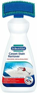 dr. beckmann carpet stain remover with cleaning brush - 650ml