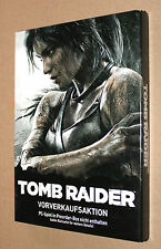 Tomb Raider Very Rare German Pre-order Steelbook with Sleeve G1 PC